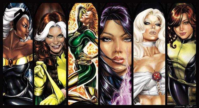 Топ 100 сексуальных женщин комиксов