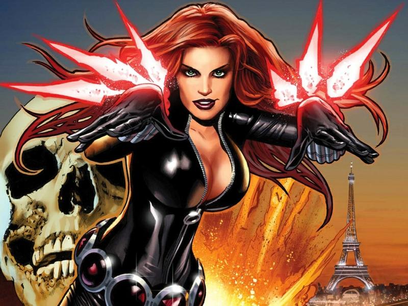 Сексуальные супергерои marvel