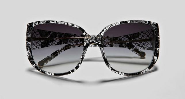 Кружевные очки от Dolce Gabbana