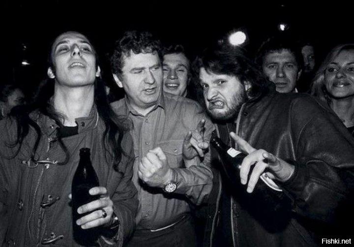 Владимир Вольфович зажигает в рок-клубе