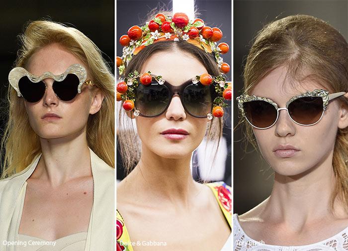 Солнцезащитные очки  тренды весна-лето 2016   Женский сайт обо всем d250bf21e8a