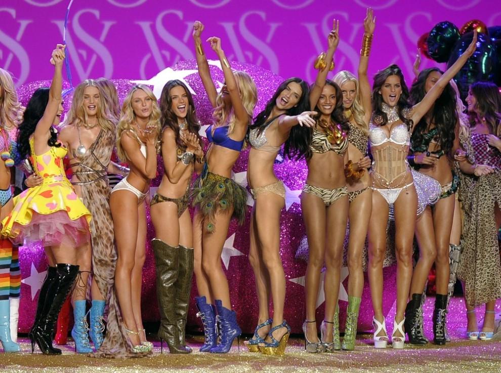 17 самых сексуальных ангелов Victoria's Secret