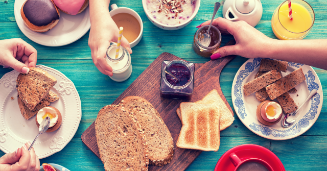 Время для завтрака