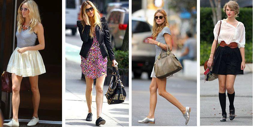 Обувь, вошедшая в моду