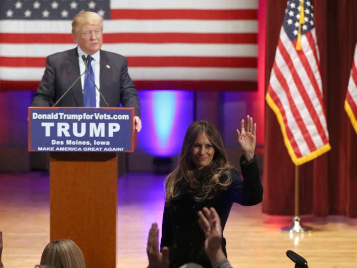 Мелания Трамп разделила модную индустрию