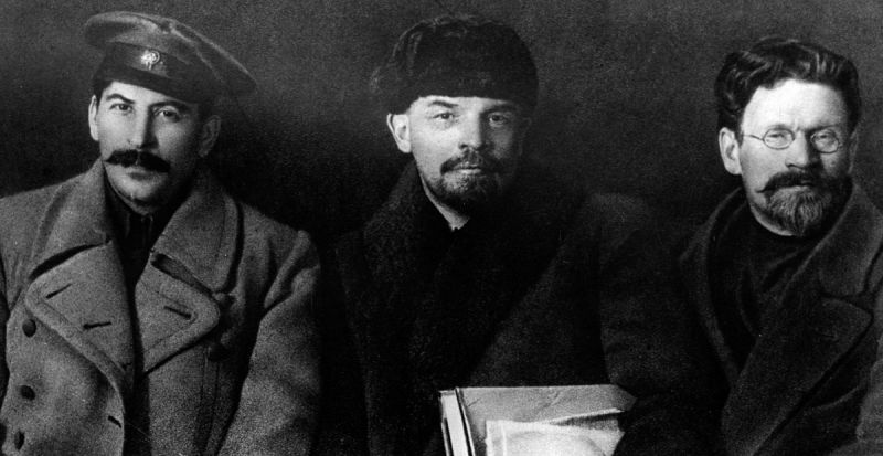 Russian Revolutionary Leaders.