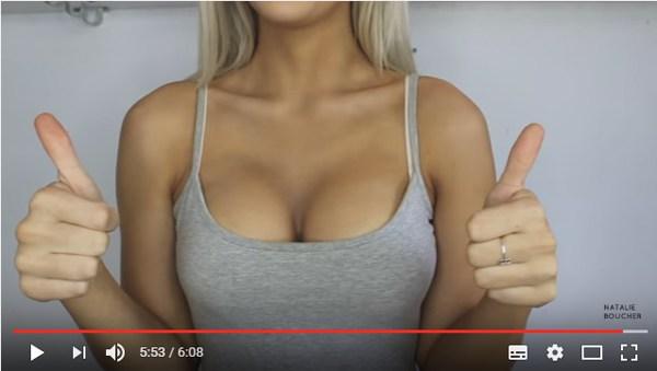 Как увеличить грудь с помощью косметики