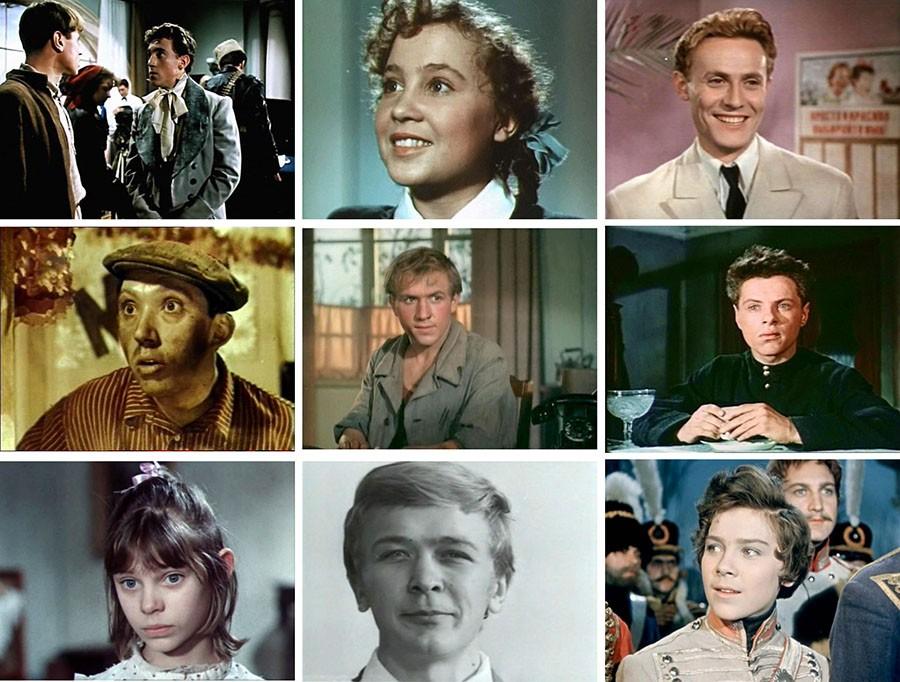 Первые роли наших любимых актеров