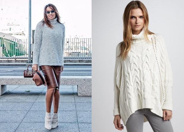 Фасоны женских свитеров
