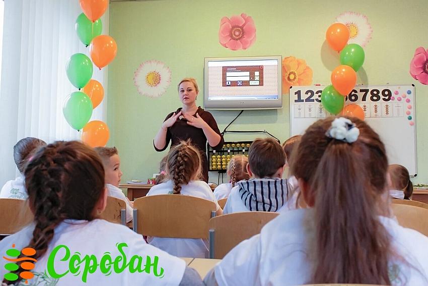 Ментальная арифметика в школе «Соробан» в Краснодаре