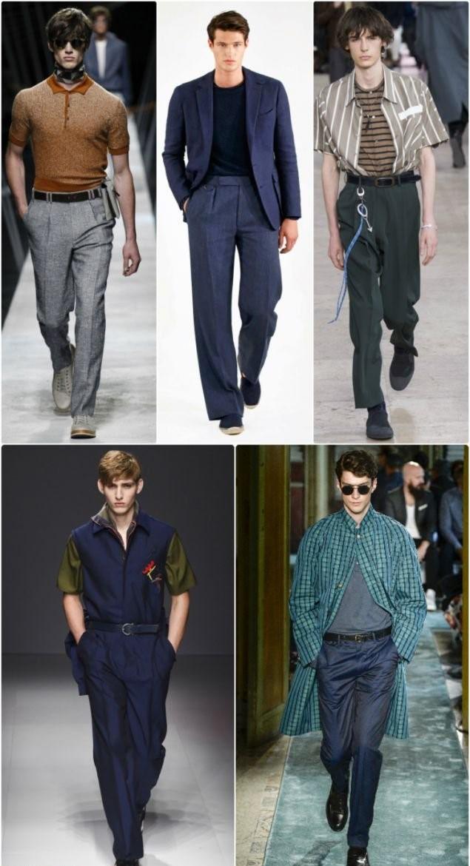 Модные мужские штаны 2017 года