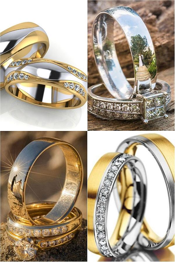 Обручальное кольцо огранка и форма камня