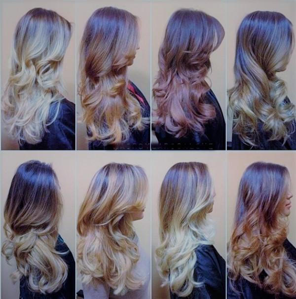 Окрашивание волос основные виды эффективных методик