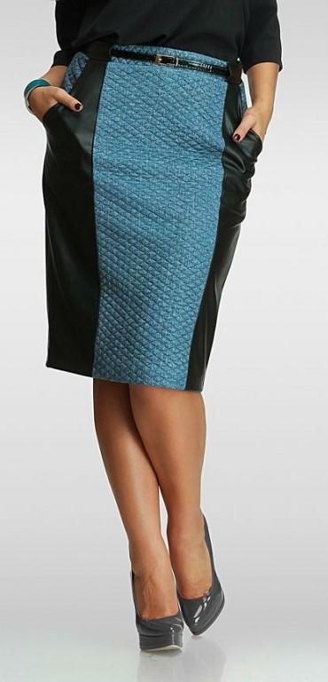 Фасоны юбок для полных женщин