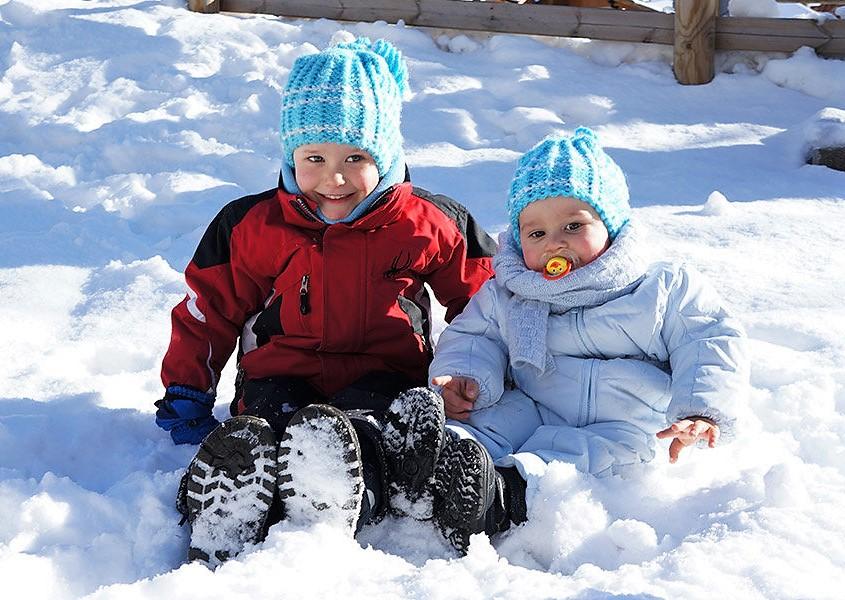 Во что одевать ребенка зимой