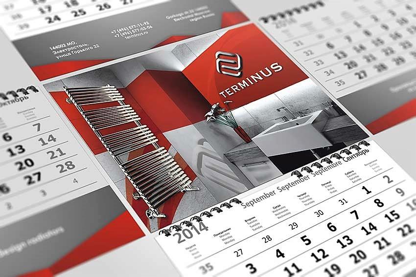Производство календарей: особенности процесса