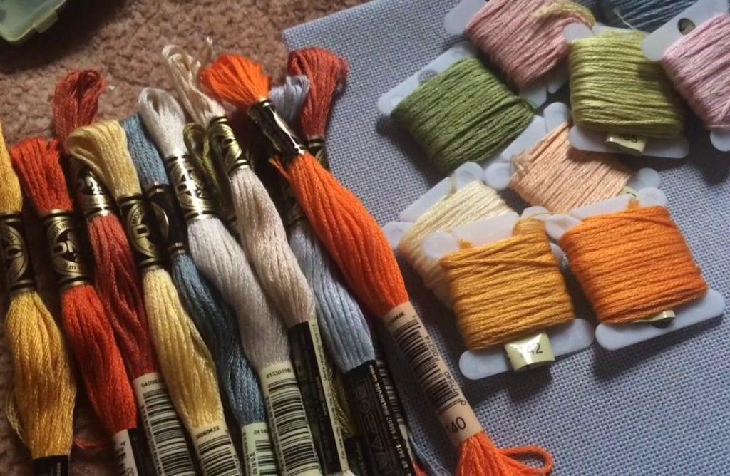 Что необходимо для вышивания